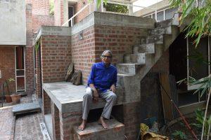 2018-ųjų Pritzkerio architektūros premija atiteko Indijos architektui