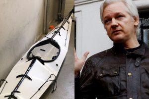 """Norvegijos policija rado dingusio """"WikiLeaks"""" partnerio baidarę"""