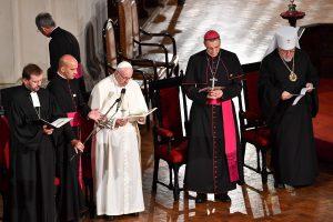 Popiežius Latvijoje kviečia krikščionis siekti dialogo, supratimo