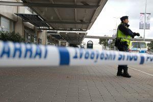 Švedijoje oro uoste suimtas neva sprogstamos medžiagos turėjęs keleivis