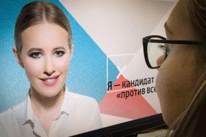 K. Sobčiak užmojis tapti Kremliaus šeimininke paverčia rinkimus šou?