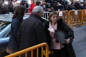 Katalonijos parlamento pirmininkė stos prieš Ispanijos teismą
