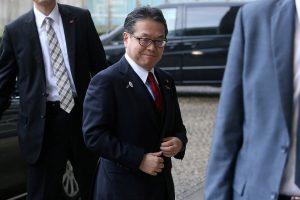 Japonija prašys JAV atleisti šalį nuo importo muitų tarifų plienui ir aliuminiui