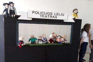 Vienintelis Lietuvoje: policijoje – lėlių teatras