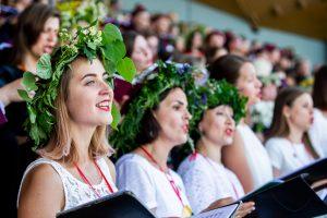 Dainų šventė sutraukė apie pusę Lietuvos