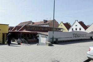 Senajame Klaipėdos turguje bandyta apiplėšti parduotuvę
