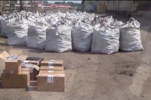 Durpių briketuose – per 300 tūkst. eurų vertės cigarečių kontrabanda