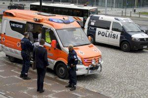 Prie Suomijos parlamento mėgino nusižudyti du žmonės