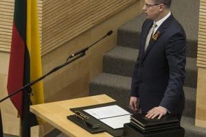 Prisiekė du nauji Seimo nariai – O. Valiukevičiūtė ir A. Kupčinskas
