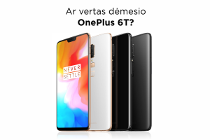 """Šešios priežastys įsigyti """"OnePlus 6T"""" telefoną"""