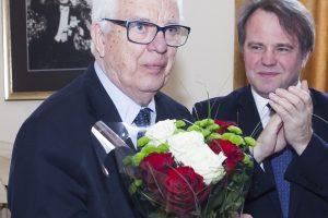 Latvių kompozitoriui R. Paului – Lietuvos muzikos ir teatro akademijos apdovanojimas