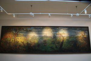 Karo muziejaus ekspoziciją papildė išskirtinis paveikslas