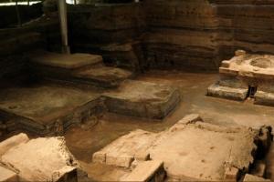 """Salvadoro """"majų Pompėjoje"""" surasti pirmieji žmogaus palaikai"""