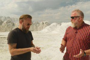 Kėdainių Alpes aplankę M. Starkus ir V. Radzevičius pasijuto kaip fantastiniame filme