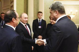 Derybomis Berlyne bus bandoma gaivinti įstrigusį Ukrainos taikos procesą