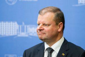 Premjeras: Vyriausybės sprendimai užkirs kelią nesąžiningam kainų kėlimui