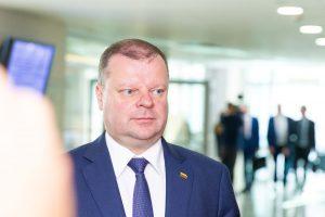 Premjeras pasirašė kvietimą 12-kai prekybos tinklų investuoti Lietuvoje