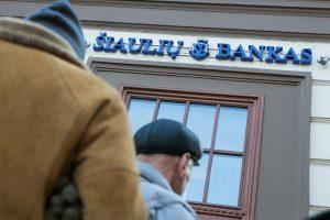 Naktį – laikini Šiaulių banko paslaugų trikdžiai