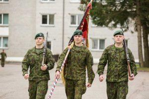 Klaipėdoje – Dragūnų bataliono karių priesaika