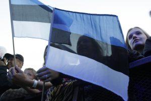 Incidentas Estijoje: vandalai nuniokojo paminklą stalinizmo aukoms