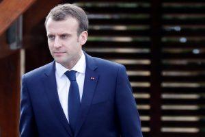 "E. Macronas: Europoje plinta nacionalizmo ""liga"""