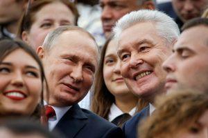 Kremliui ištikimas S. Sobianinas perrinktas Maskvos meru