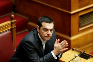 Graikijos parlamentas pradėjo debatus dėl pasitikėjimo premjeru