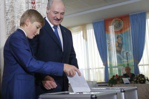 A. Lukašenka: mano sūnūs nenori būti prezidentai