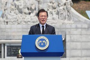 Pietų Korėja: D. Trumpo ir Kim Jong Uno susitikimas – tik ilgo proceso pradžia