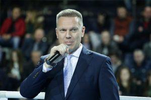 Lietuvos bokso federacijos prezidentu išrinktas D. Šaluga