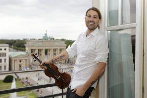 Smuiko virtuozas D. Garrettas į Lietuvą grįžta su dešimtmečio programa