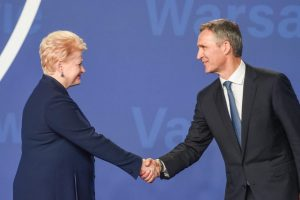 Prezidentė dalyvaus NATO viršūnių susitikime