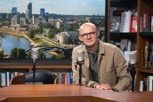 Žurnalistas E. Jakilaitis debiutuoja naujame amplua – ves pokalbių laidą