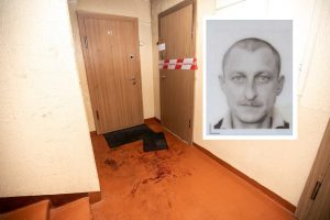 Teismas trims mėnesiams suėmė dviem nužudymais įtariamą ukrainietį