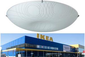 """Nesaugūs """"Ikea"""" šviestuvai atšaukiami iš rinkos: gali sukelti pavojų"""