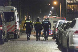 Amsterdame nušautas vienas asmuo, dar vienas sužeistas