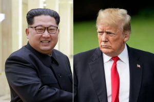 D. Trumpas: susitikimas su Kim Jong Unu vis dar gali įvykti