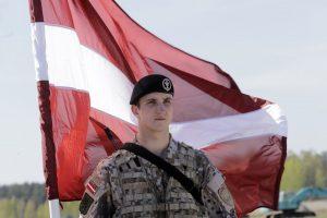 Latvija karinės infrastruktūros gerinimui kasmet planuoja skirti maždaug 50 mln. eurų