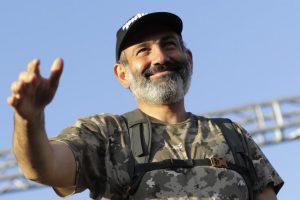 Opozicijos lyderis N. Pašinianas išrinktas Armėnijos premjeru (papildyta)