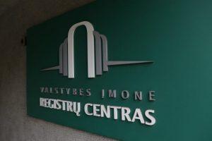 Registrų centras: dauguma viešųjų įstaigų neatskleidžia informacijos apie dalininkus