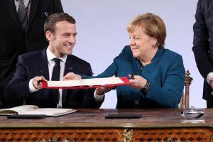 Vokietija ir Prancūzija pasirašys naują draugystės sutartį