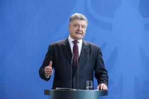 Ukrainos prezidentas nori konstitucijoje įtvirtinti šalies siekį įstoti į NATO
