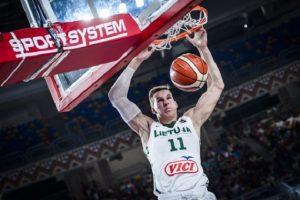 Jaunimo krepšinio rinktinė tęsia pasiruošimą Europos čempionatui