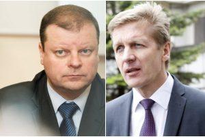 S. Skvernelis: jei įstatymai nedraudžia, A. Vaitkus gali vadovauti Klaipėdos uostui