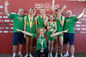 Per karštį ir ligas specialiąsias žaidynes Lietuva baigė trimis medaliais