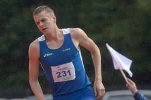 Šuolininkas į aukštį A. Glebauskas įvykdė Europos čempionato normatyvą