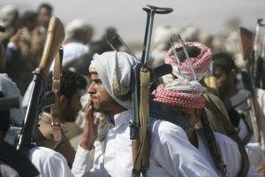 Jemeno sukilėliai Raudonojoje jūroje užpuolė Saudo Arabijos tanklaivį
