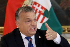 Vengrijos premjeras grasina vetuoti ES biudžeto projektą