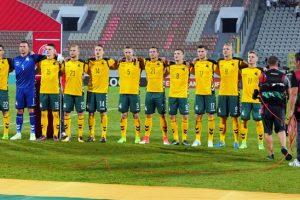 Laukiama Anglijos ir Lietuvos futbolininkų susitikimo, stiprinamas saugumas