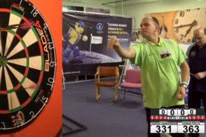 Lietuvos smiginio meistrų turnyrą laimėjo garliaviškis D. Labanauskas